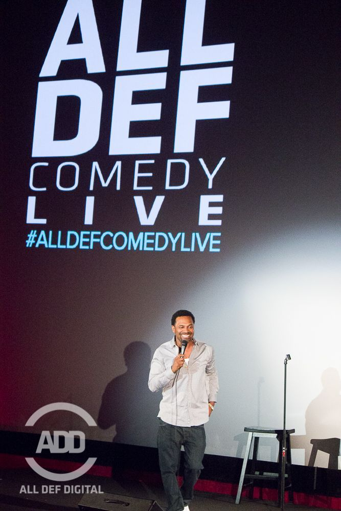 Mike Epps takes the stage at All Def Comedy Live Wednesdays.