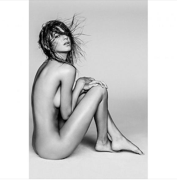 Kendall Jenner's LOVE mag shoot.