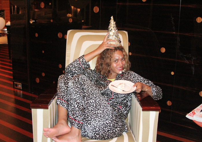 Beyonce celebrates her birthday in France
