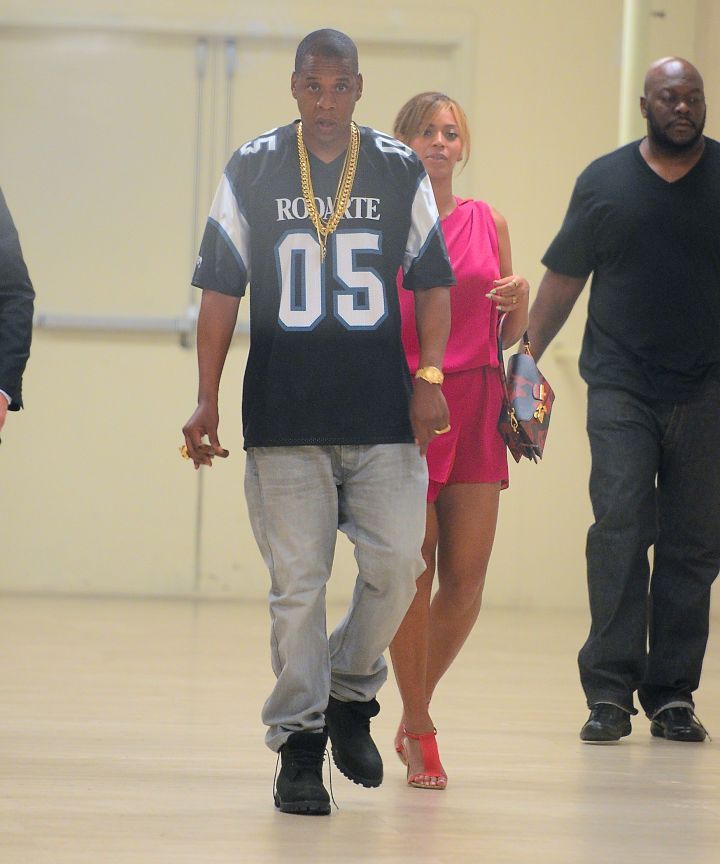 Out & About With Beyonce.