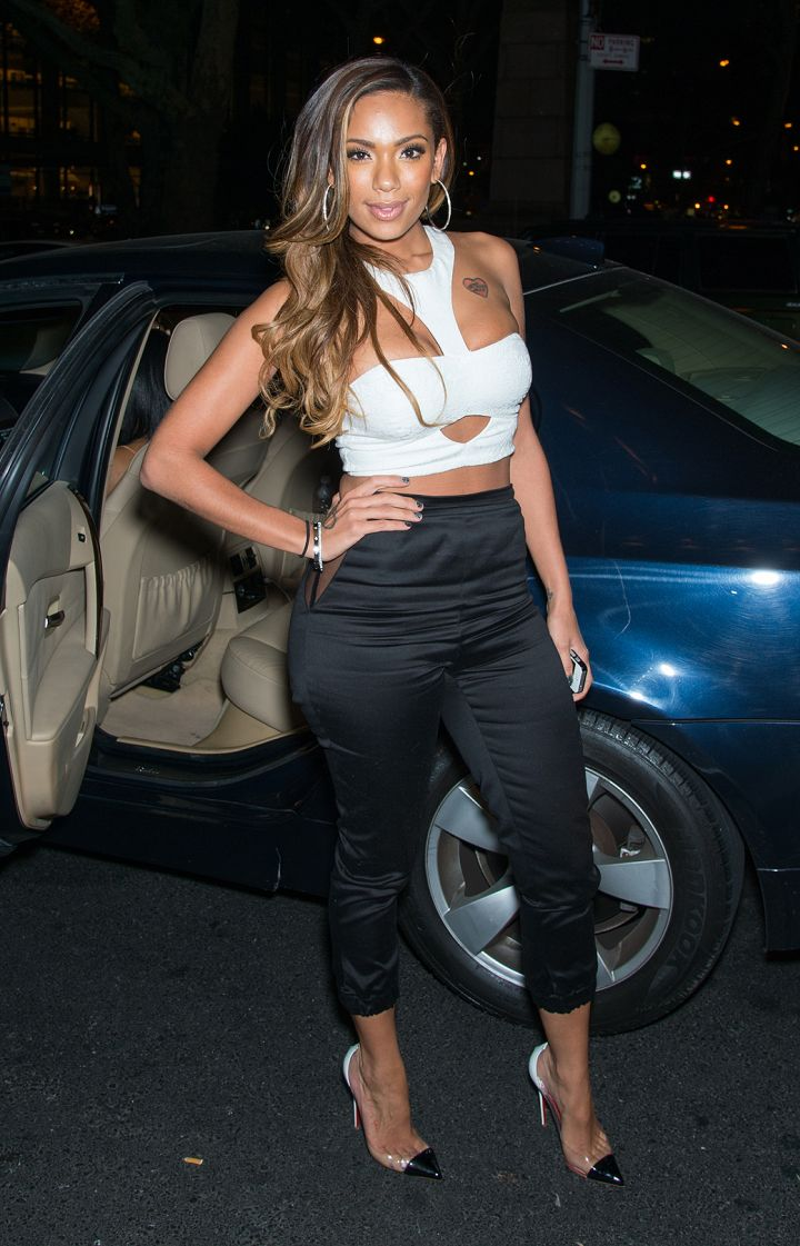 """Erica Mena hits up Empire Hotel in NYC for the """"VH1 Couples Therapy"""" bash."""