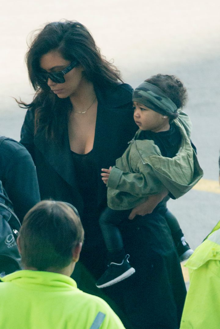 Nori showed off her safari side as she headed to the zoo in Australia.
