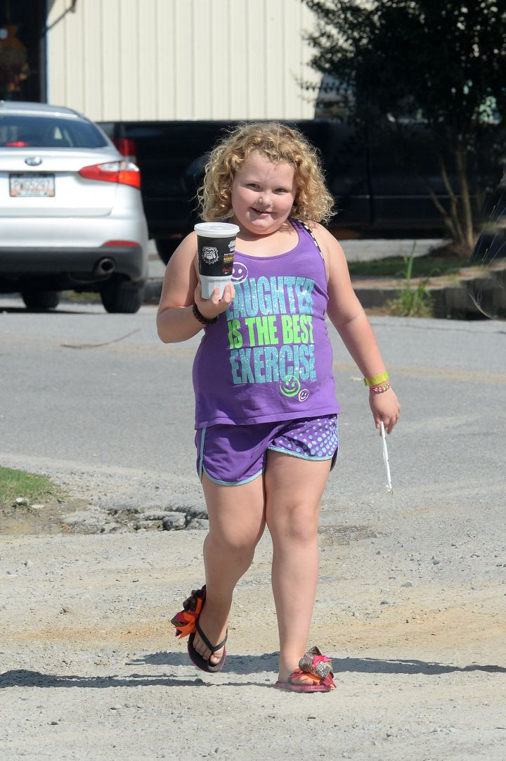 Oh hey girl! Honey Boo Boo was spotted rocking her million dollar smile in Georgia.
