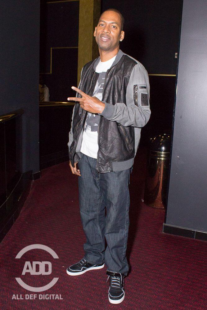 Host Tony Rock poses for a quick flick.
