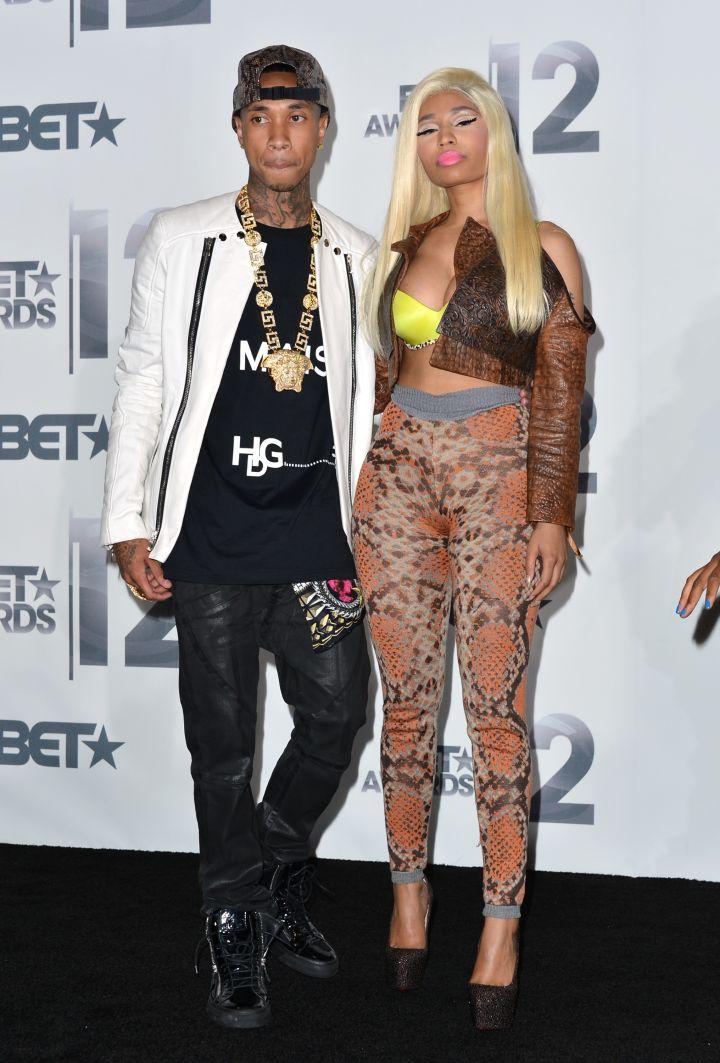 Tyga & His Labelmate Nicki Minaj
