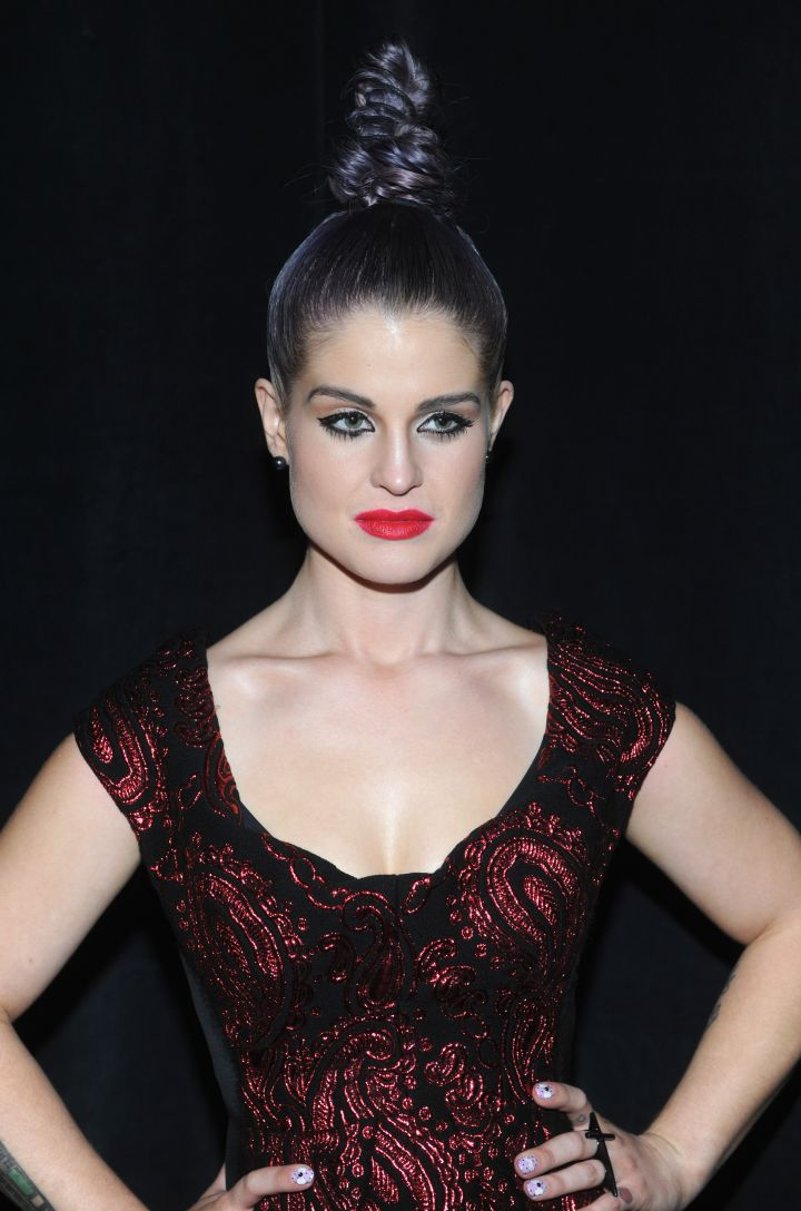 Who else can rock a top knot so fiercely?