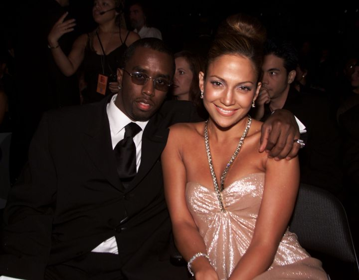 Diddy and J.Lo cuddle in close for the 1st Annual Latin Grammys.