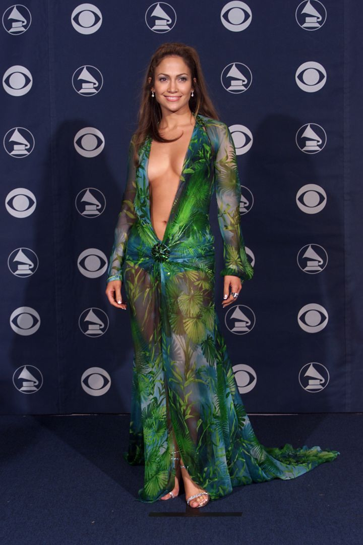 """Jennifer Lopez became a star after playing the lead role in the """"Selena"""" biopic. And this dress put her on everyone's radar!"""