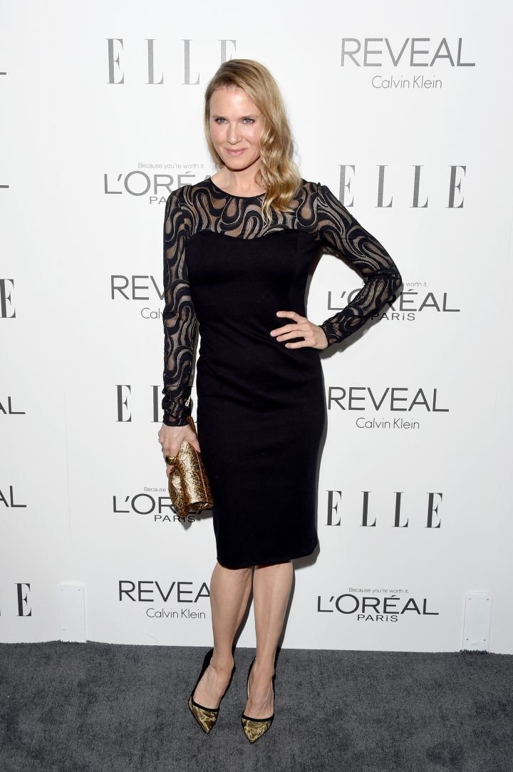 Today, a seemingly unrecognizable Zellweger works behind the scenes and has recently produced Lifetime TV Movies.