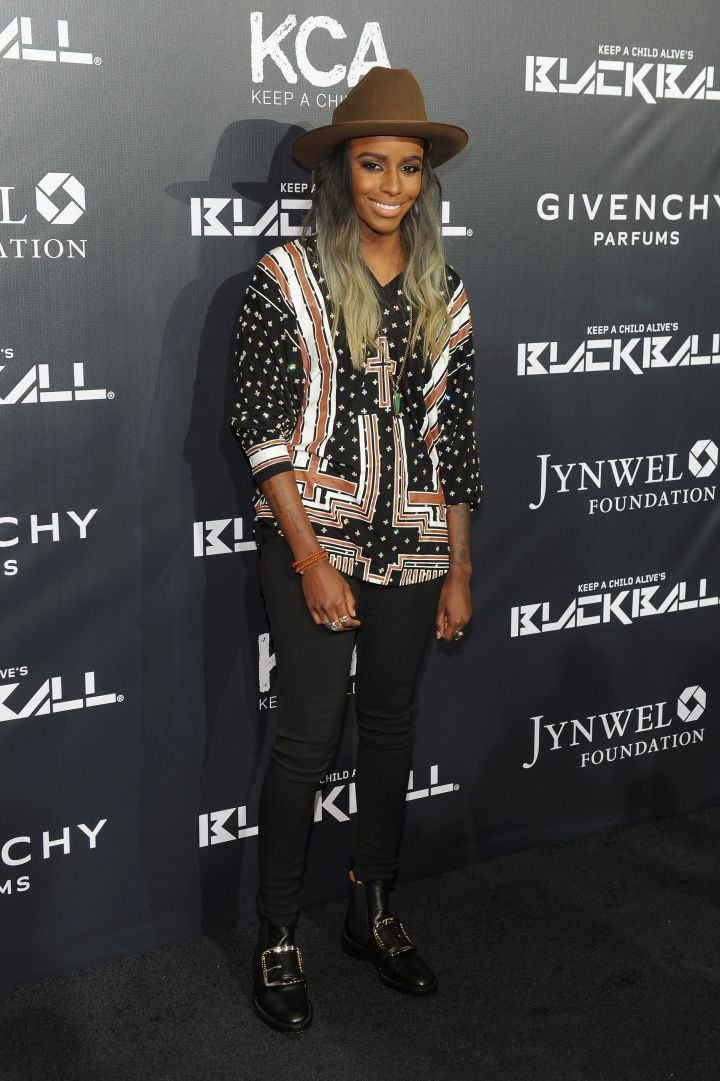 Angel Haze was the only one to keep it casual.