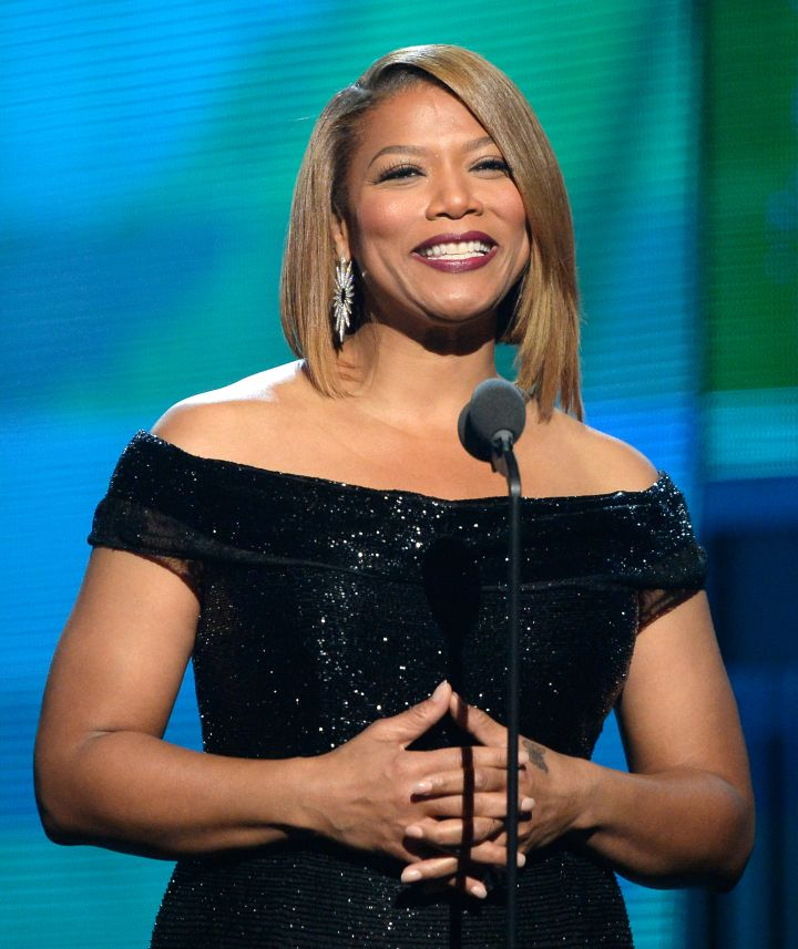 Queen Latifah brings awareness to breast cancer on her popular talk show. She also partakes in breast cancer walks and benefits to help raise money for research.