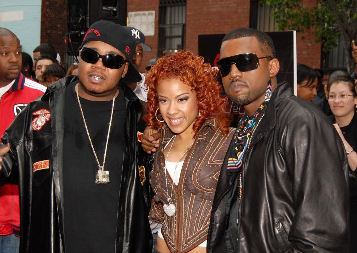 In her early music days, Keyshia worked heavily with an up and coming Kanye West.