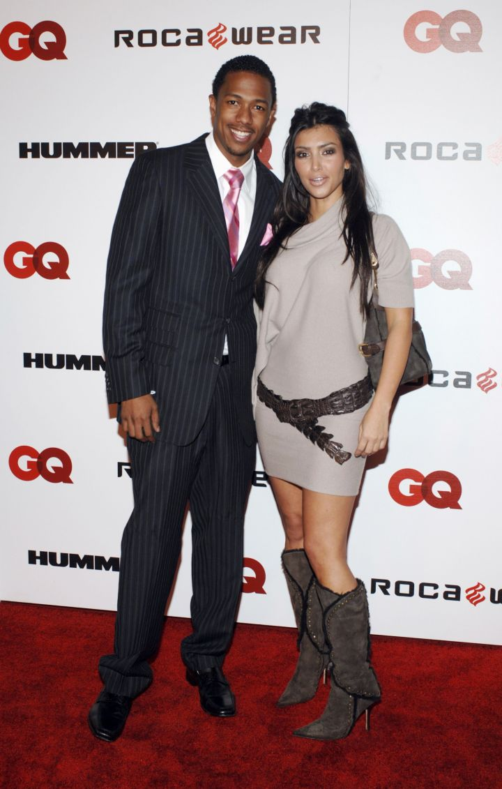 Kim Kardashian and Nick Cannon also dated for a while.