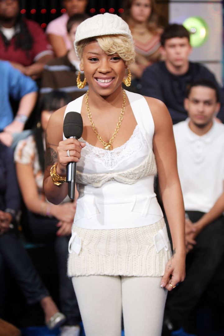 In 2007, Keyshia promoted her sophomore album on TRL.