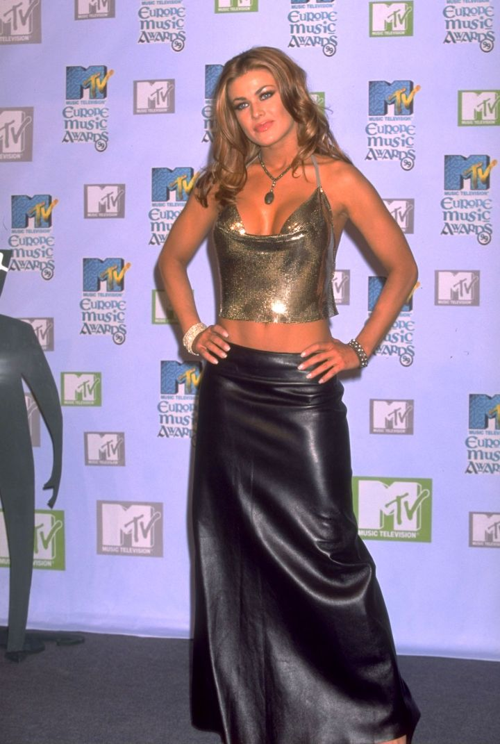 """Carmen Electra gained fame for her appearances in Playboy magazine and her role on the TV series """"Baywatch."""""""