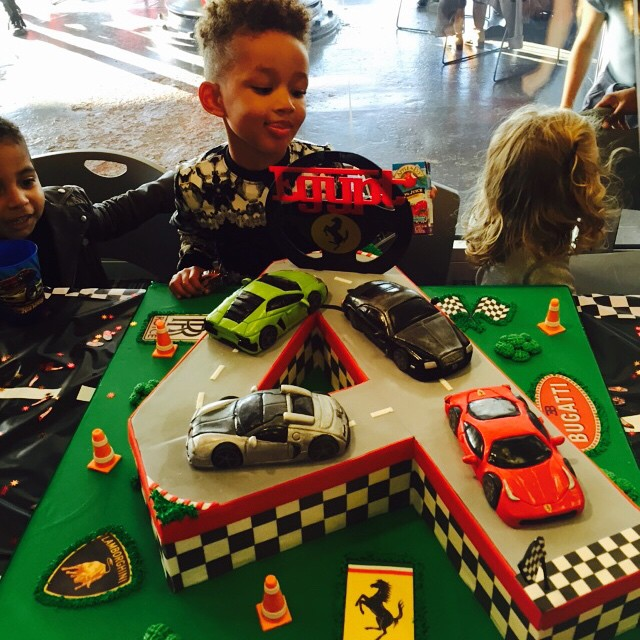 Alicia Keys and Swizz Beatz's son Baby Egypt celebrated his four birthday with a dope party.