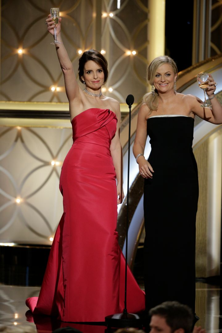 """Amy Poehler and Tina Fey: The BFFs went on to write another hot comedy """"Baby Mama"""" and have now hosted the Golden Globes two years in a row."""