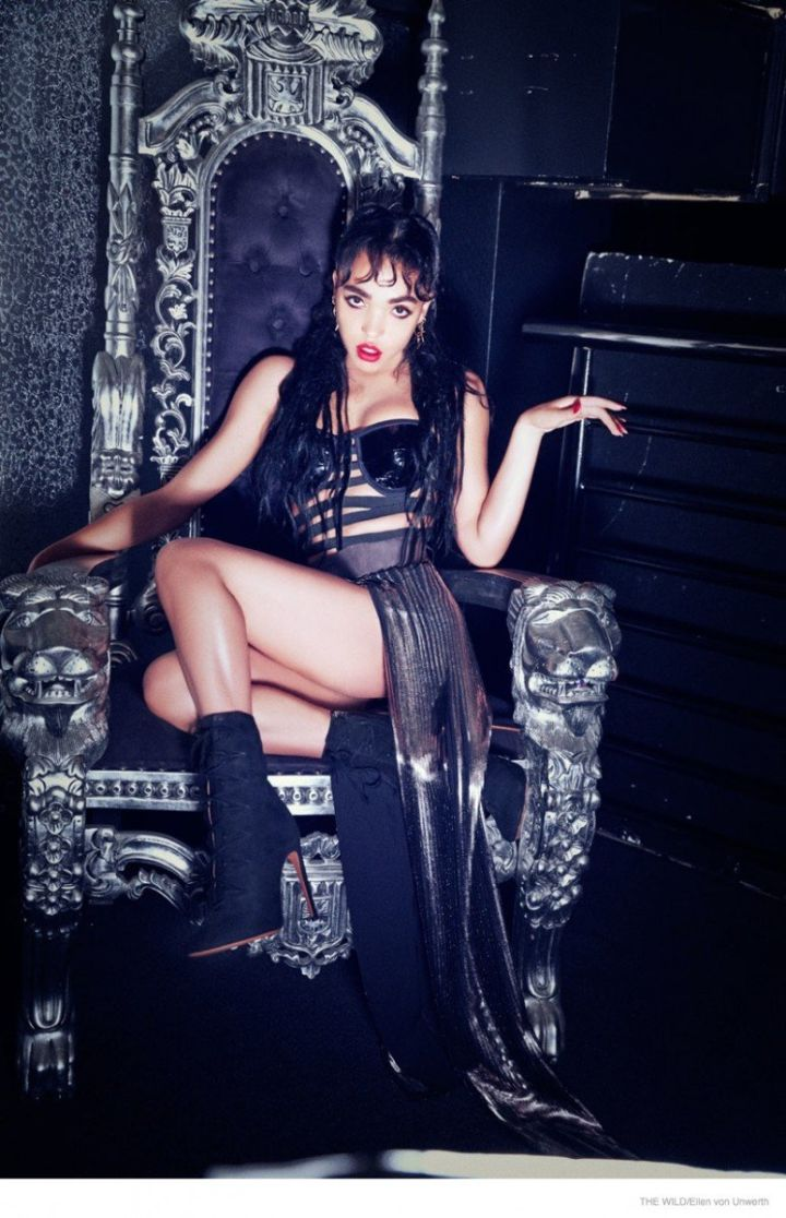 FKA Twigs Brings Out Her Wild Side For The Wild Magazine.