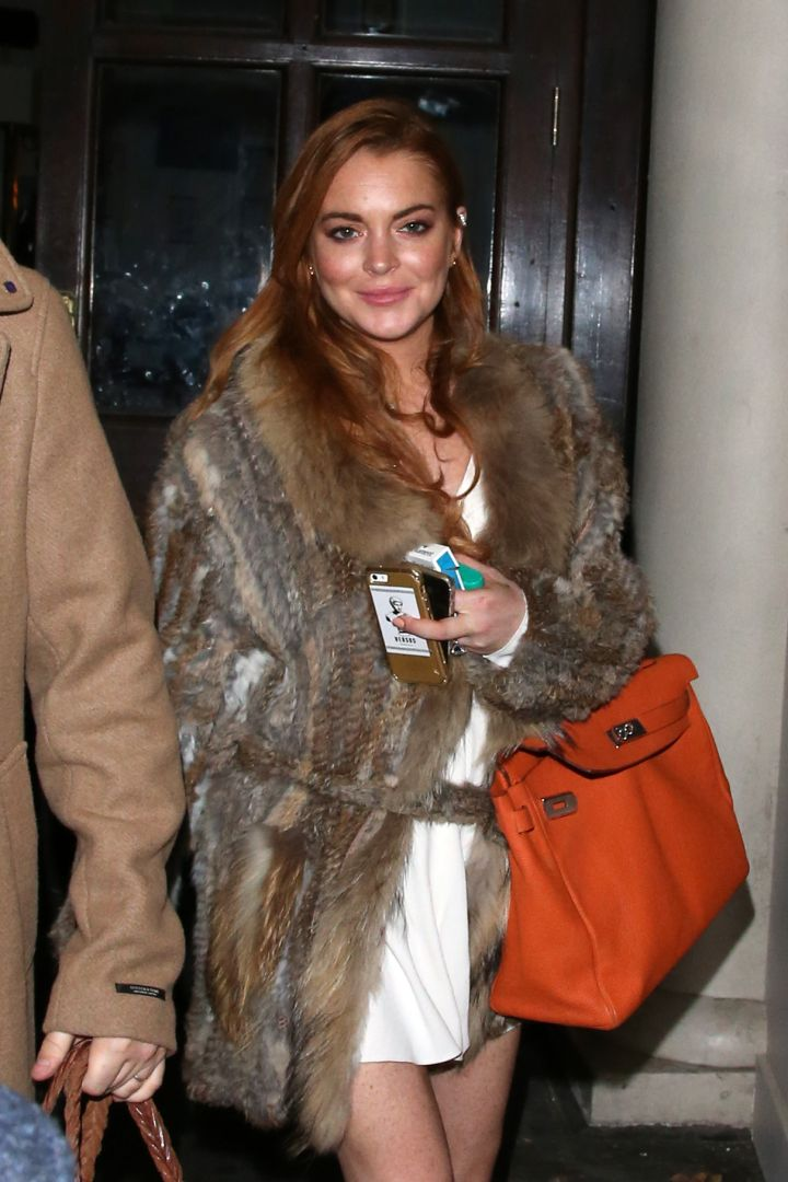 """Following yet another rehab stint, Lindsay starred in her OWN reality show and has recently moved to London to star in the play """"Speed the Plow."""""""