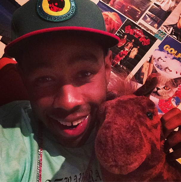 This is Tyler, The Creator and his pet horse, Choncho.