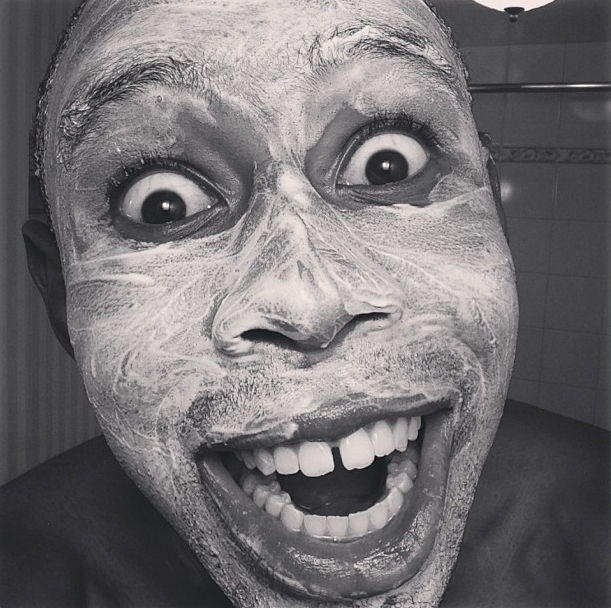This is Tyler, The Creator showing us how much he loves a good facial.