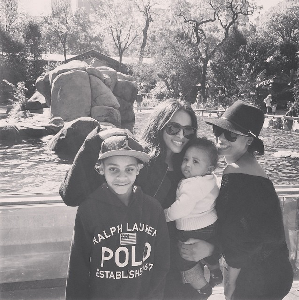 The gang hangs out at the Central Park Zoo.