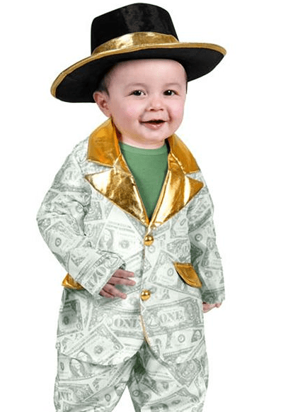 """Sure, let's teach our boys that while """"pimpin' ain't easy,"""" it sure is funny for Halloween."""