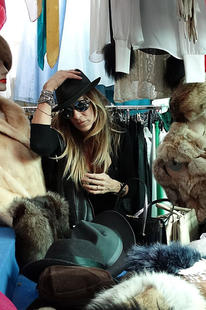 Sarah Jessica Parker looks effortlessly fabulous while out and about in Rome.