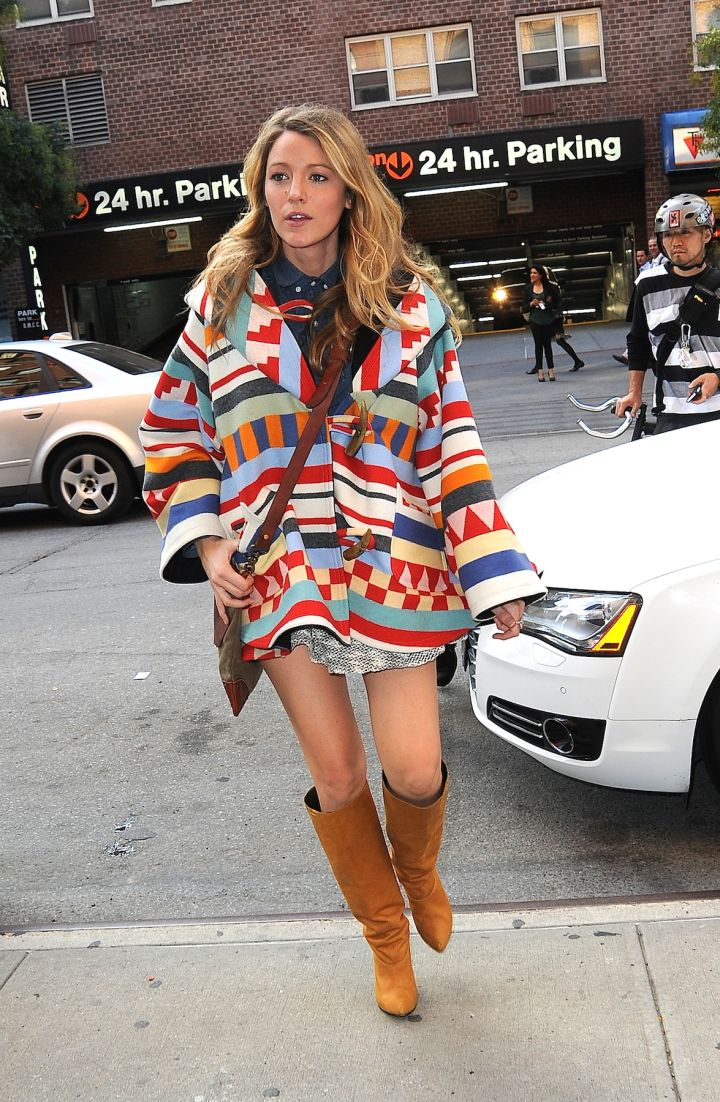Pretty preggo! Blake Lively rocks her baby bump through SoHo as she goes baby shopping in NYC