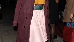 Lupita Nyong'o Bally store opening
