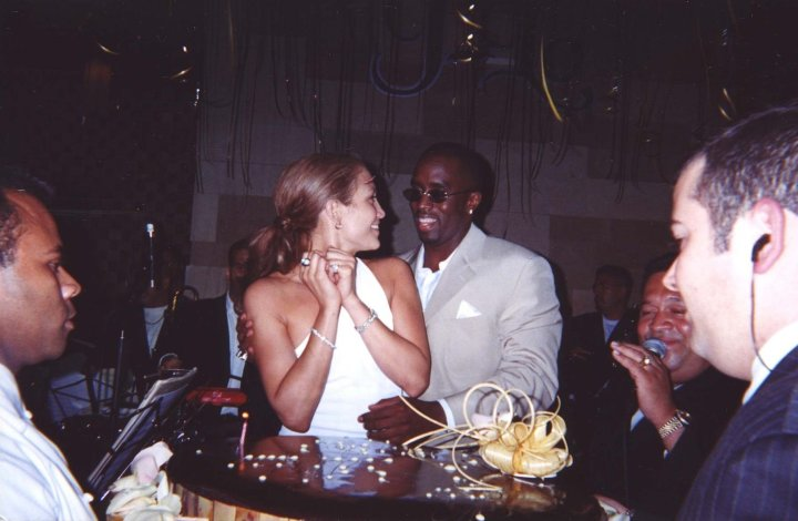 Diddy throws J.Lo a surprise birthday bash.