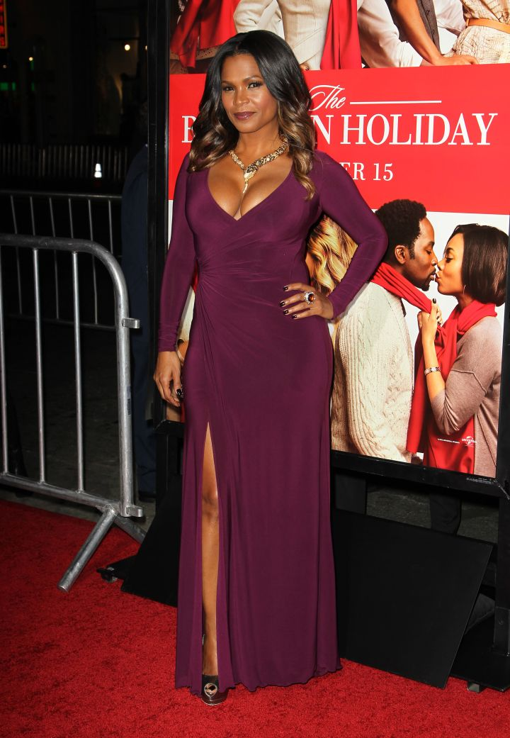 Nia Long makes us do a double take in a dress that fits just right.