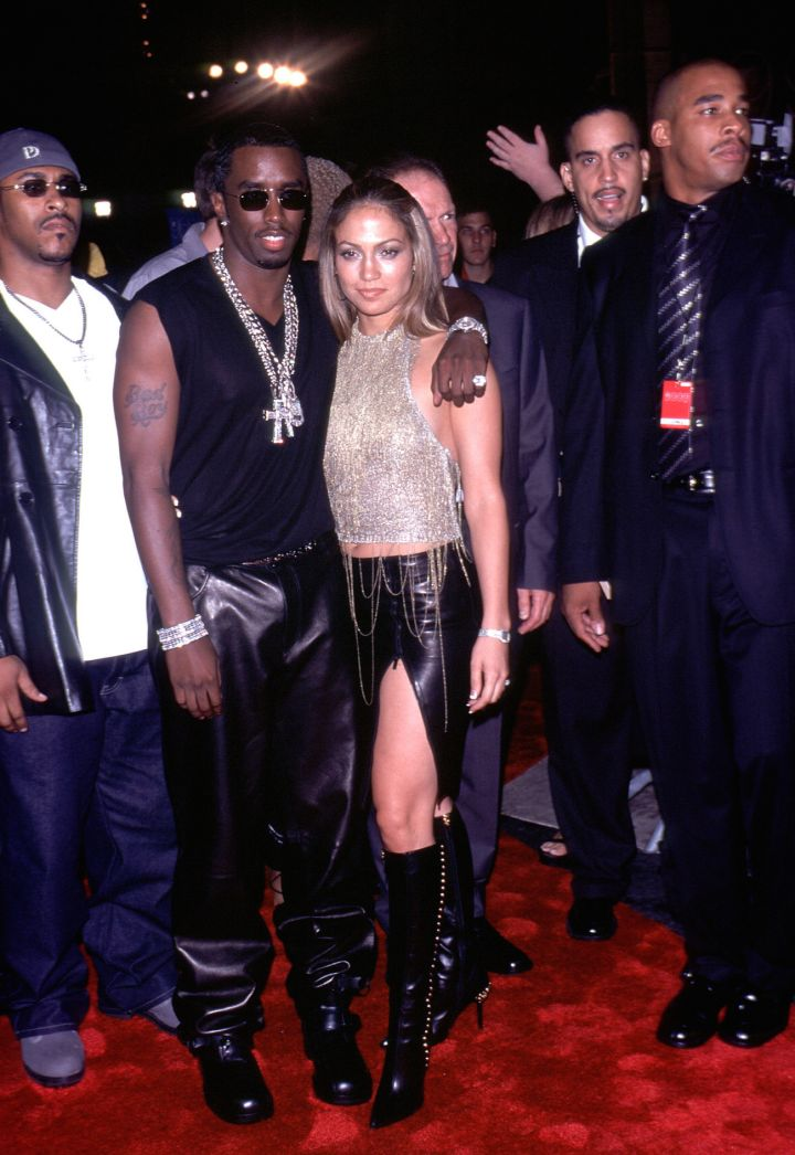 That J.Lo & Diddy back in '99 at the VMAs.