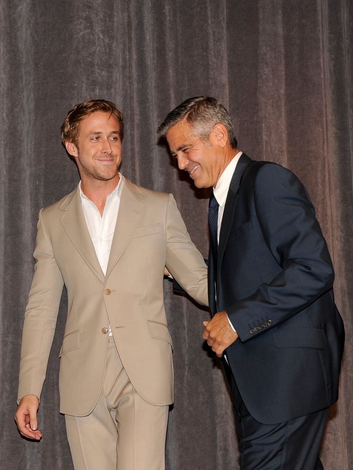 You know you're gorgeous when you look great next to Clooney.