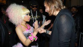 Nicki Minaj and DJ David Guetta