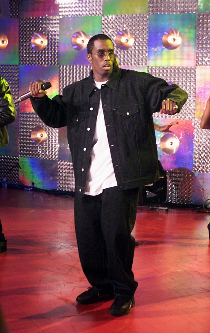 Diddy also took his unique dance moves to TRL.