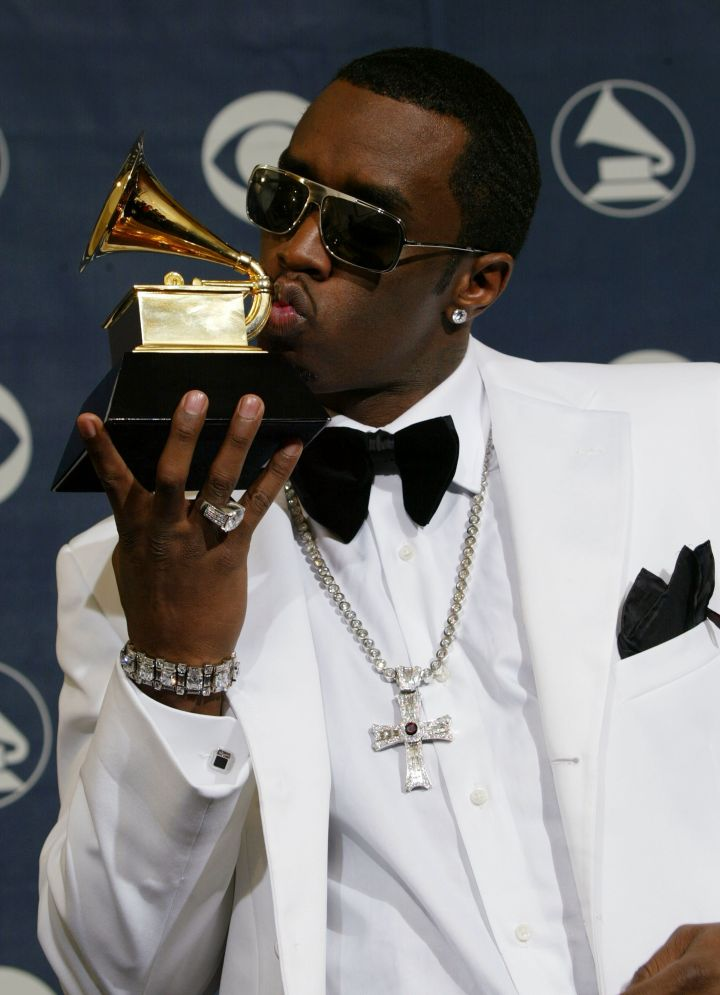 The time he kissed his Grammy.