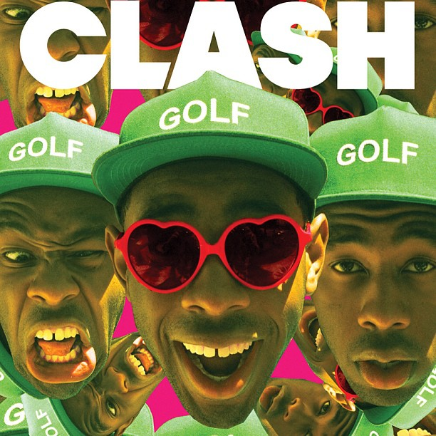 Tyler and his sunnies make the cover of Clash.