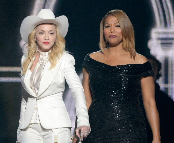 Madonna & Queen Latifah
