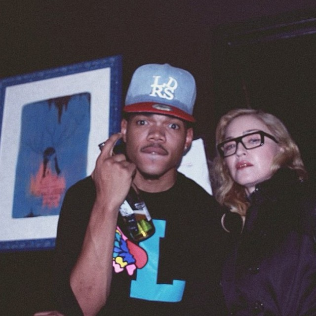 Madonna Taking A Chance On Chance The Rapper