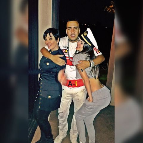 french montana kris jenner kendall jenner birthday party