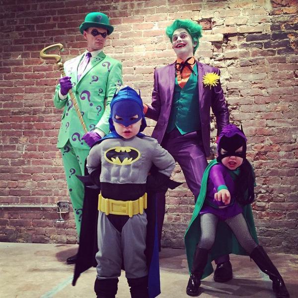 Neil Patrick Harris and his kids dive into the Batman series.