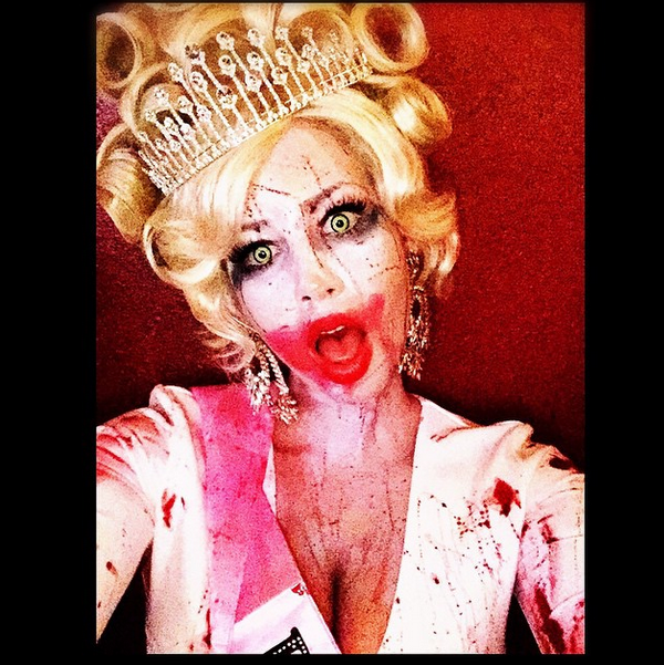 Amber Rose is a zombie Queen!