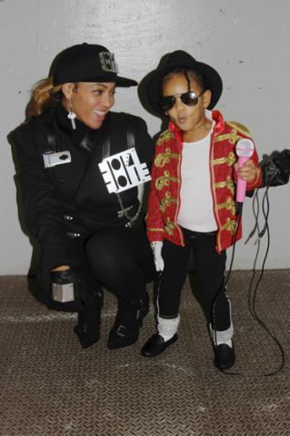 beyonce blue ivy carter halloween 2014 michael janet jackson