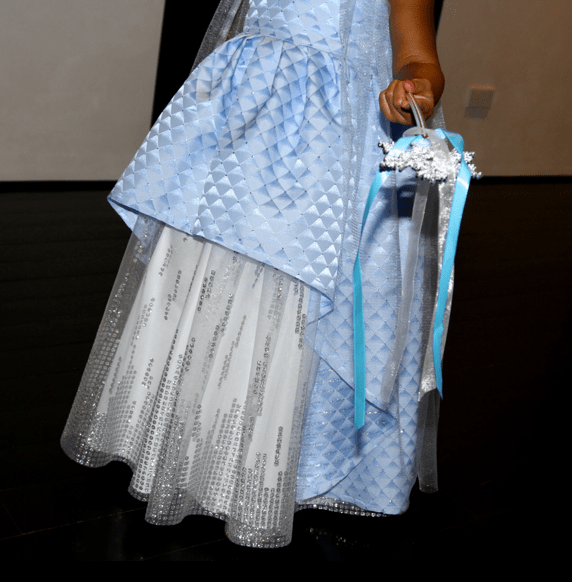 Queen Bey wasn't the only one with a few outfit changes. Here's a look at Blue Ivy dressed as a princess.