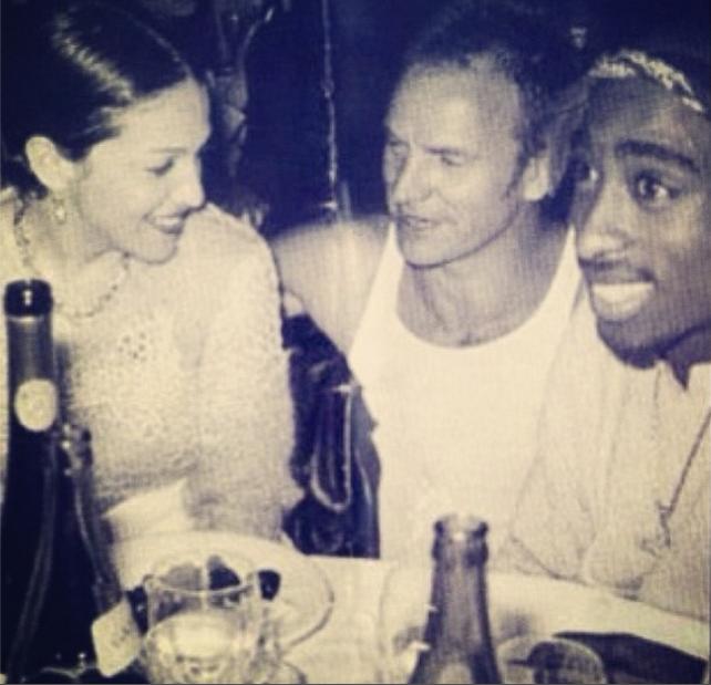 Madonna, Sting, & Pac