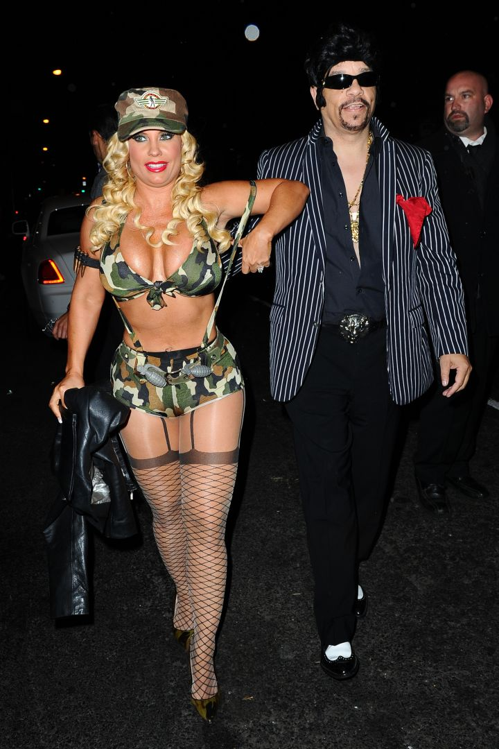 Coco & Ice T head to a party in NYC