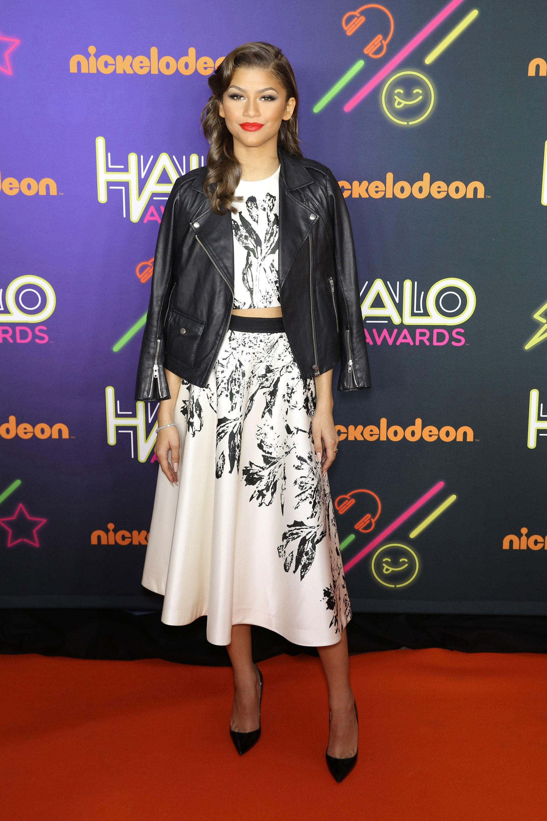 Celebrity talents arrive for the 2014 Nickelodeon HALO Awards in NYC