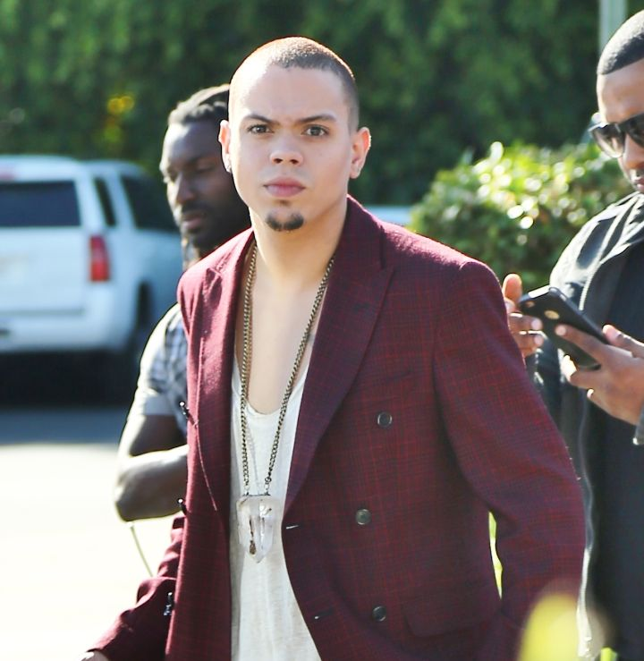 "Check out Evan Ross at Universal Studios Hollywood for an appearance on ""Extra!"""