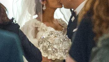 Nicole Polizzi Snooki wedding dress jionni